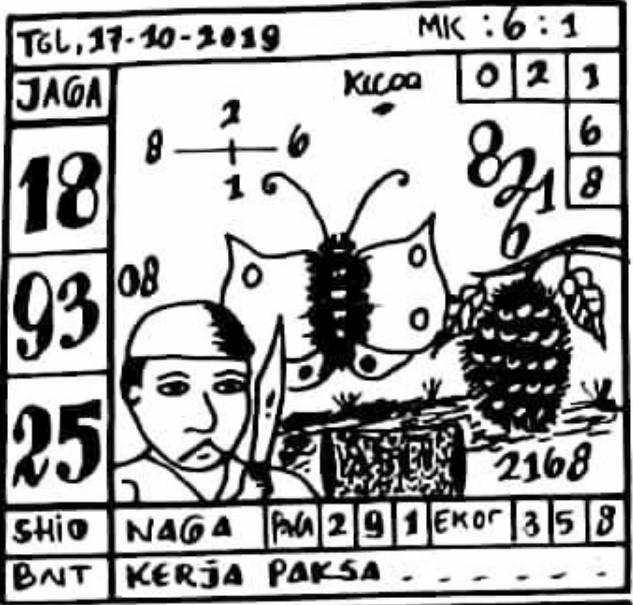 Prediksi Sgp Kamis 17 Oktober 2019 Jitu Dewa Master