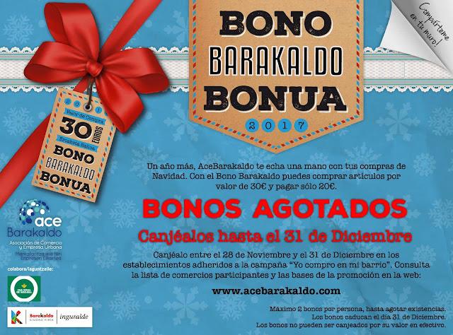 Cartel de Bono Barakaldo