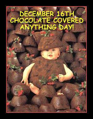 National Chocolate Covered Anything Day Wishes