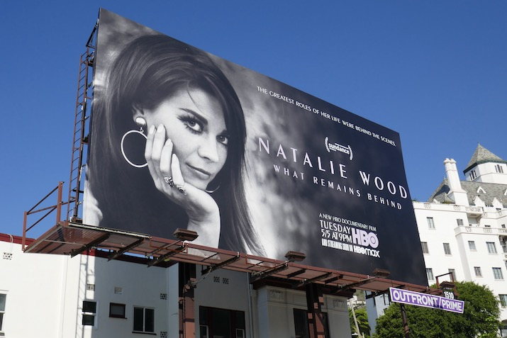 Natalie Wood What Remains Behind documentary billboard