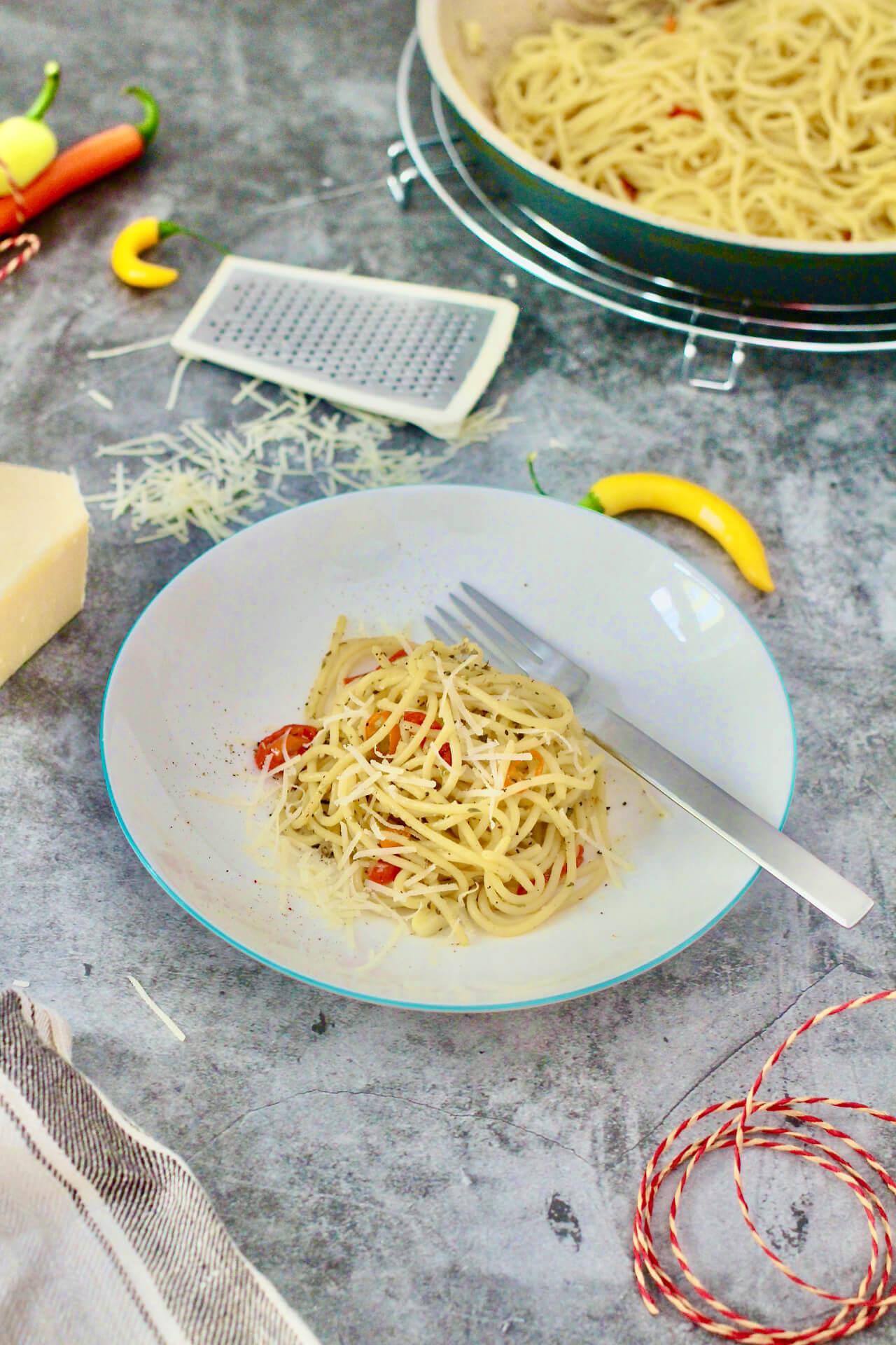 Pasta agli odori Rezept für duftende Pasta