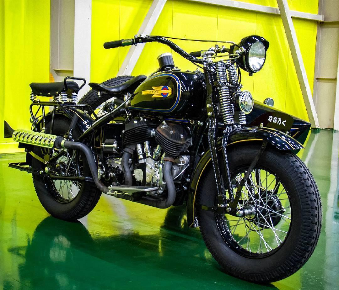 Sejarah Motor Klasik - Kurogane Tipe 95 1939