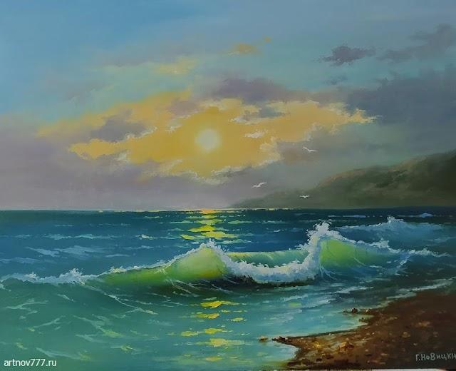 Августовские волны