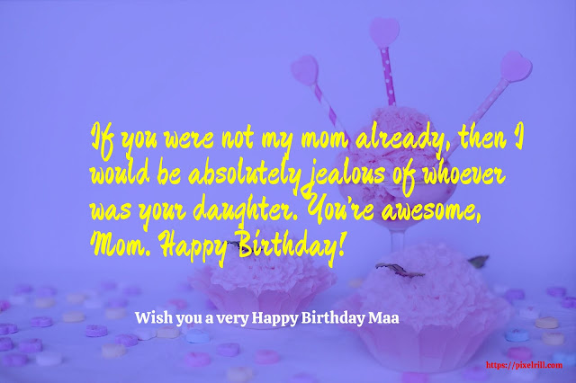 Happy Birthday Greeting card For Mother