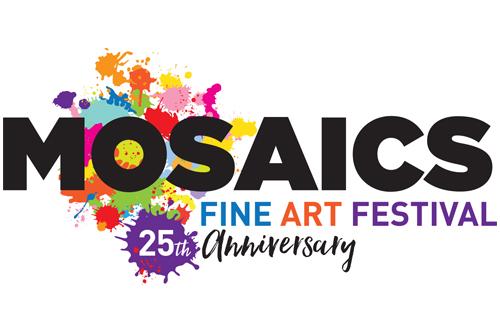 Mosaics Fine Art Festival 25th anniversary