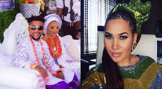 Oritsefemi's Wife, Nabila Ignores Husband's Plea, Praises Caroline Hutchings #Arewapublisize