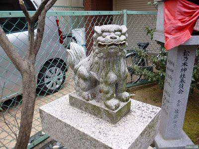 松乃木神社狛犬