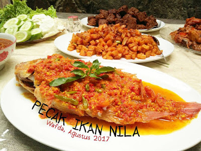 Resep Pecak Ikan Nila by @dapurwafda