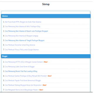 tampilan sitemap blogger 1