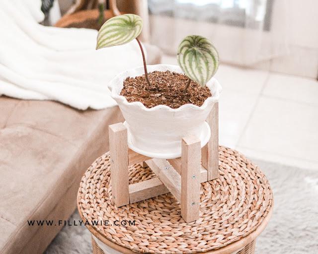DIY Standing Pot