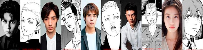 Tokyo Revengers live-action film - Tsutomu Hanabusa - reparto