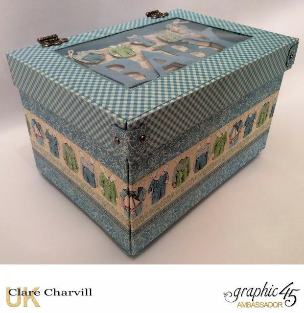 Precious Memories Baby Box Clare Charvill Graphic 45
