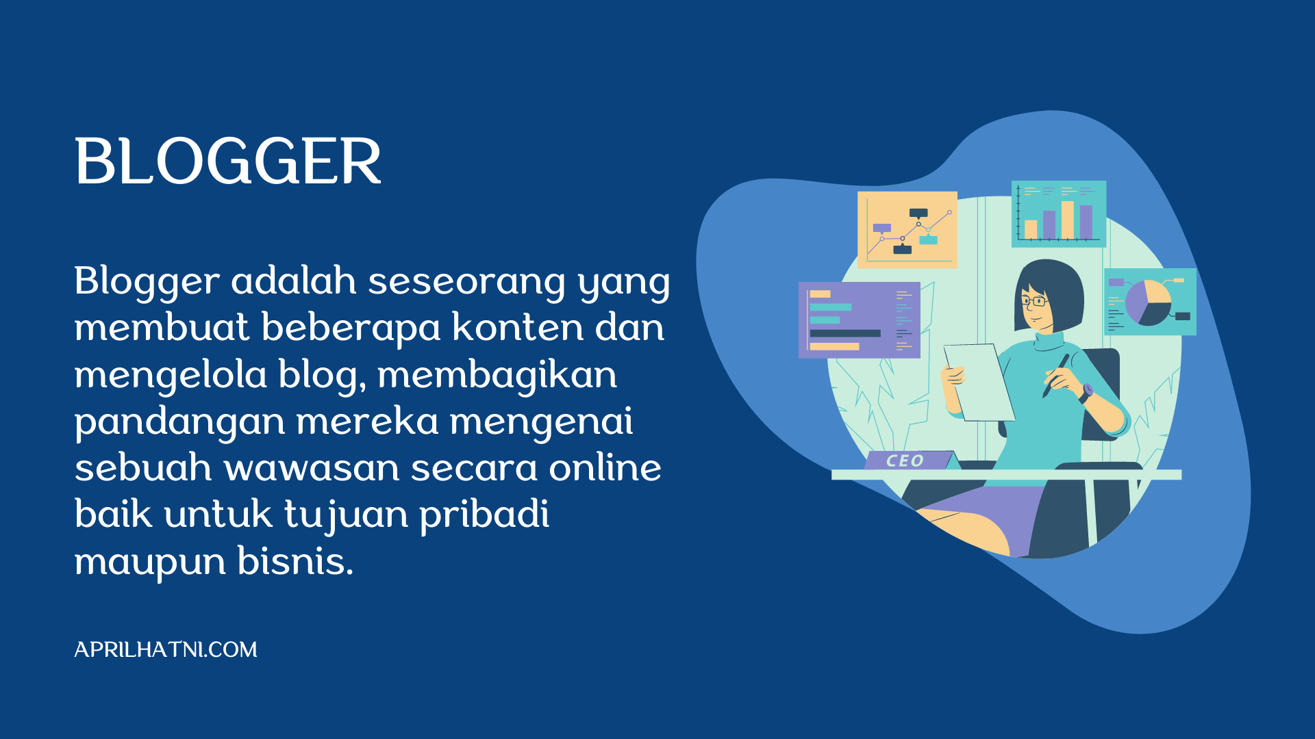 pengertian blogger