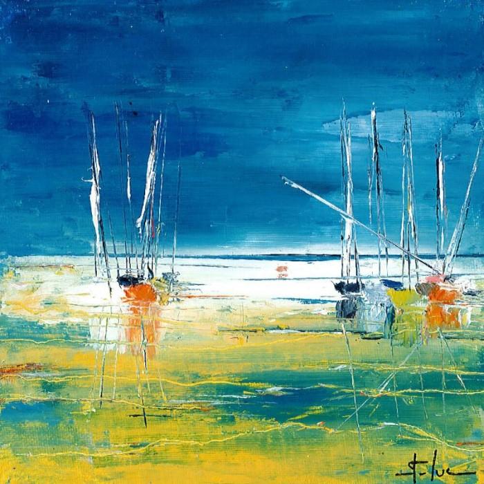 Вода и небо. Michel Saint Luc