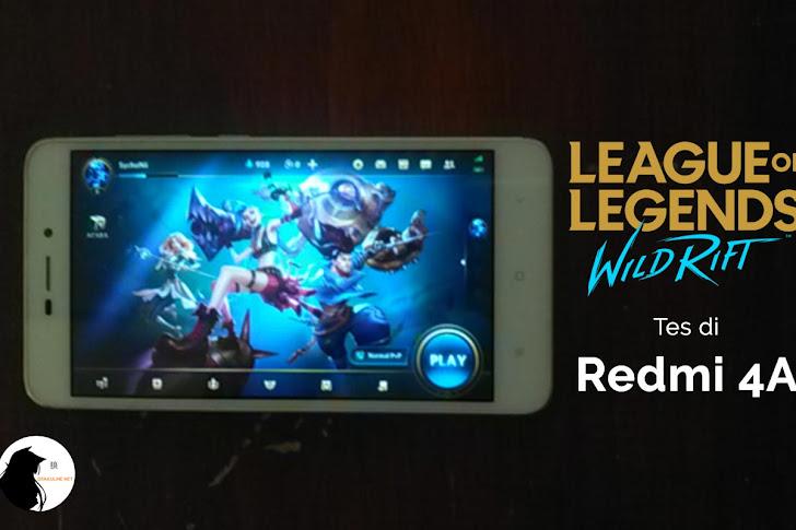 Tes LOL: Wild Rift di Android Kentang (Redmi 4A)