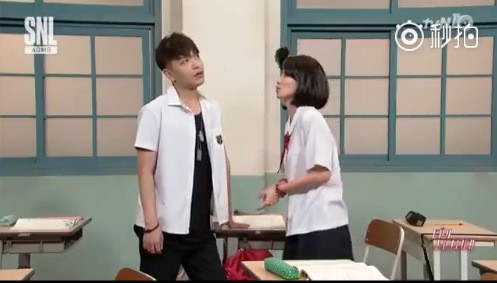 韓成人節目改編《我的少女時代》 林真心強吻徐太宇啦