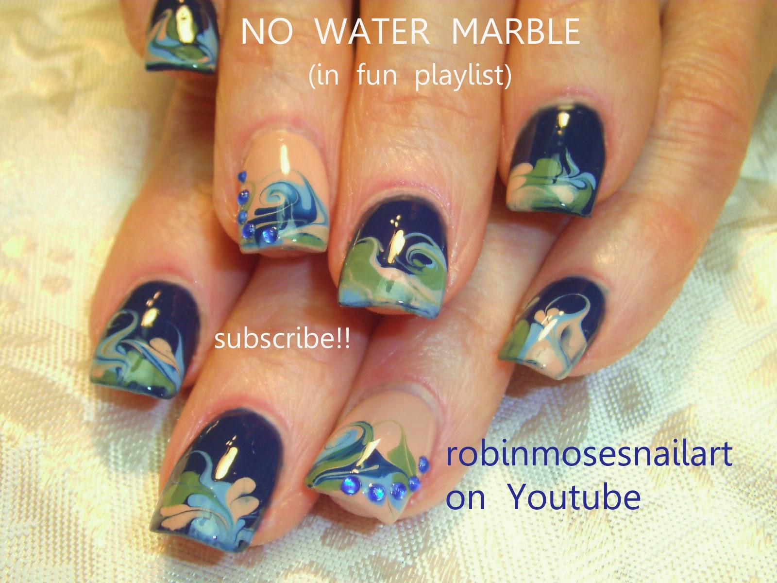 Ater Marble Cinderella Nail Art – EdPeer