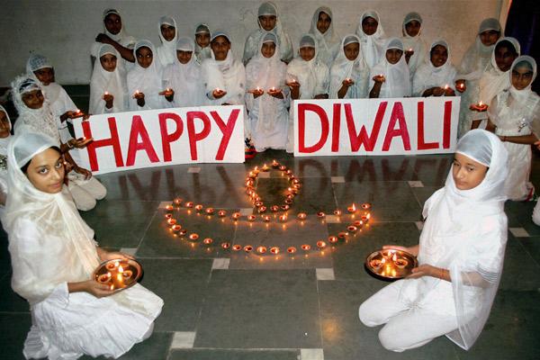 Saying Happy Diwali in Islam