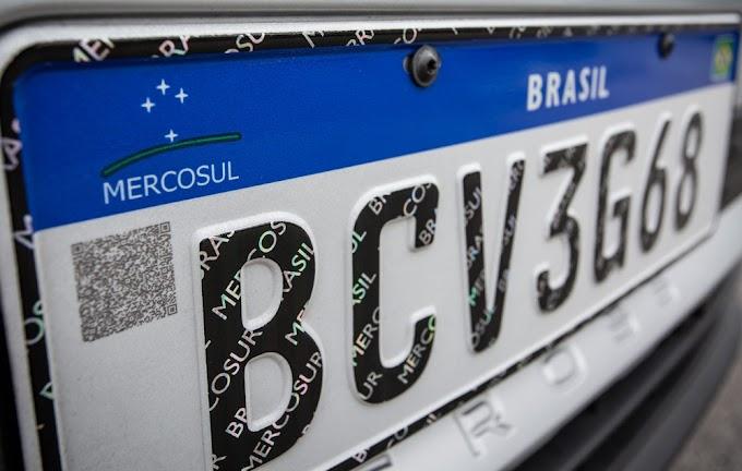 Placas do Mercosul entram em vigor em todo o Brasil nesta sexta; veja preços