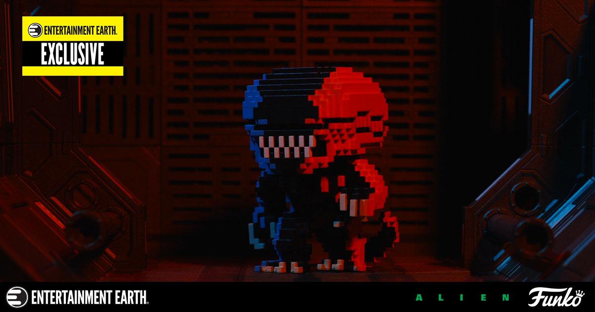 Alien Video Game Deco 8-Bit Pop! Vinyl Figure by Funko – An Entertainment  Earth Exclusive! 334d57cf14b1