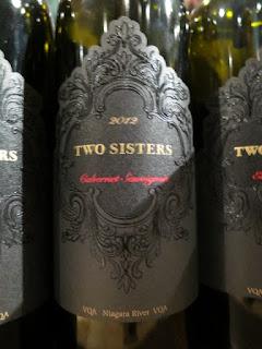 Two Sisters Cabernet Sauvignon 2012 - VQA Niagara River, Niagara Peninsula, Ontario, Canada (90+ pts)