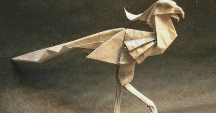Origami Eagle by haomaru87 on DeviantArt | 230x438
