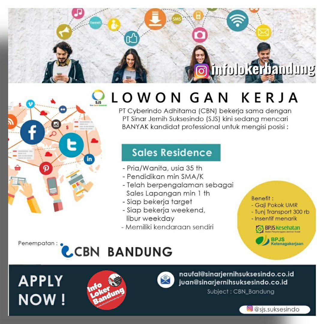 Lowongan Kerja PT. Sinar Jernih Suksesindo Bandung September 2019