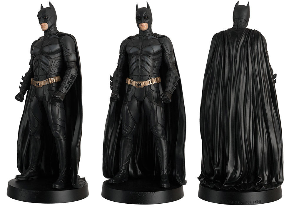 batman movie megas figurines collection, batman movie megas collection, eaglemoss collections, hero collector, mega batman figurine, bruce wayne figurine, christian bale figurine