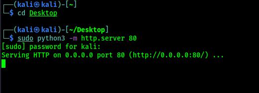 python3 http server