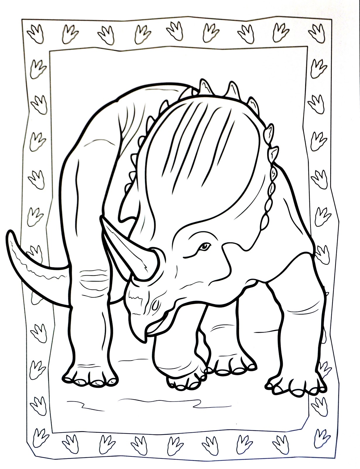 Dinosaurs coloring pages 40