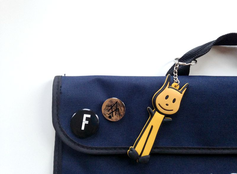 Meo & Friends keyring from the Kid who