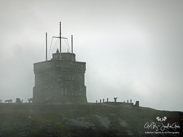 Cabot Tower Fog