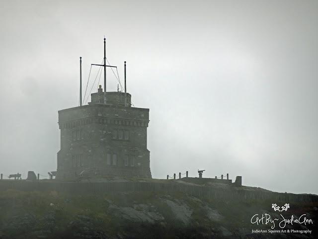Cabot Tower Fog