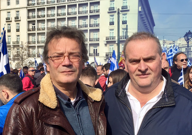 Γιώργος Γαλέος: Παραμένω μαχόμενος δίπλα σας  για κάθε Εθνικό θέμα ή διεκδίκηση της κοινωνίας