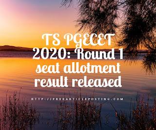 TS PGECET 2020
