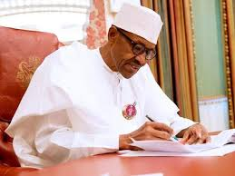 Buhari writing