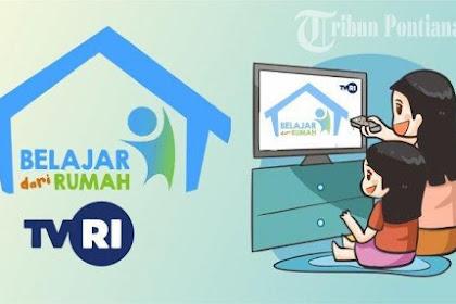 Download Panduan Lengkap Belajar Dari Rumah (BDR) TVRI