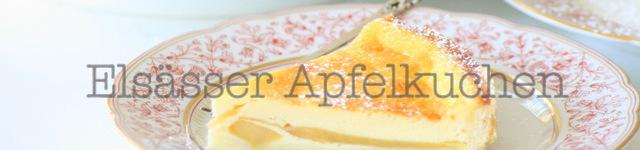 Elsässer Apfelkuchen: Hier geht´s zum Rezept