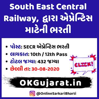 Railway Apprentice Recruitment 2020