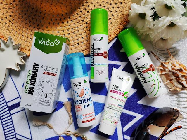 Vaco For Sure - Produkty ochronne przed owadami dla dzieci i dorosłych