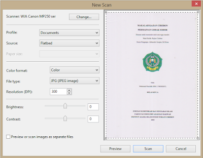 cara scan dokumen pada devices and printer