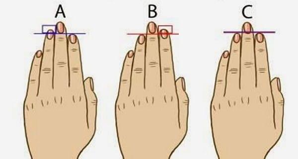 لغة الاصابع ماذا تقول أصابعك عن شخصيتك؟