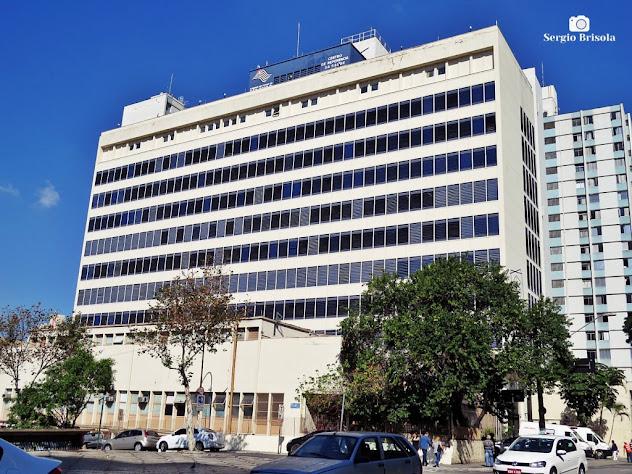 Vista ampla do Hospital Pérola Byington - Bela Vista - São Paulo