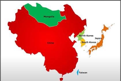 Negara-Negara di Asia Timur Beserta Ibukotanya