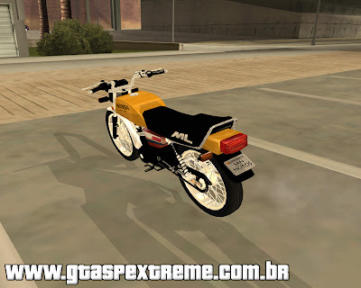 Honda ML 125cc 1988 para grand theft auto