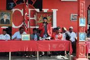 Meu Agam, Ketua DPRK Aceh Utara Ikut Kibarkan Bendera Aceh Di Sp. Keuramat