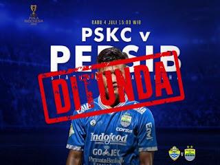 Persib Bandung Sesalkan Pembatalan Laga Melawan PSKC Cimahi di Tasik