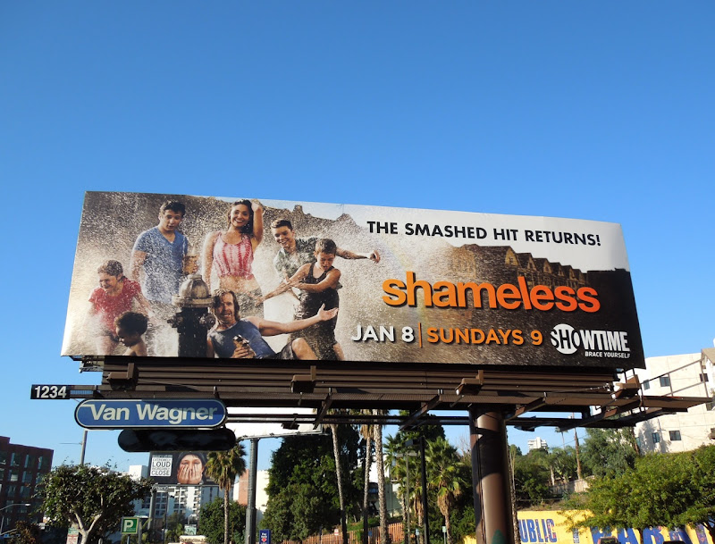 Shameless USA series 2 billboard