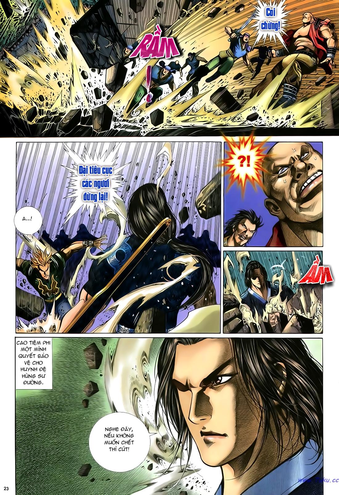 Anh hùng vô lệ Chap 24 trang 24