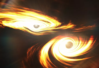 يقول علماء الفلك إنهم اكتشفوا أكبر اندماج تم اكتشافه بين ثقبين أسودين على الإطلاق